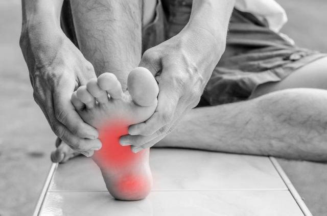 Dolor neuropático en un pie