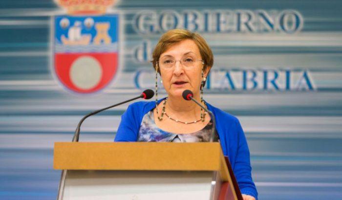 consejera sanidad-Comunidad Cantabria
