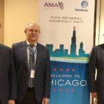 Delegación española en la reunión de la AMM