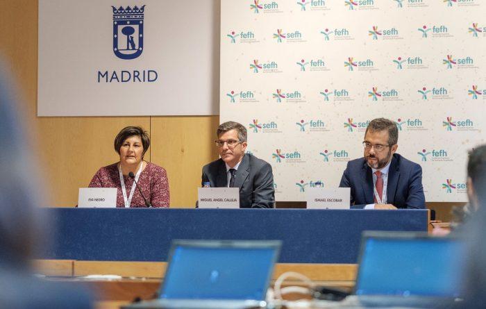 Miguel Ángel Calleja presenta el Congreso de la SEFH.