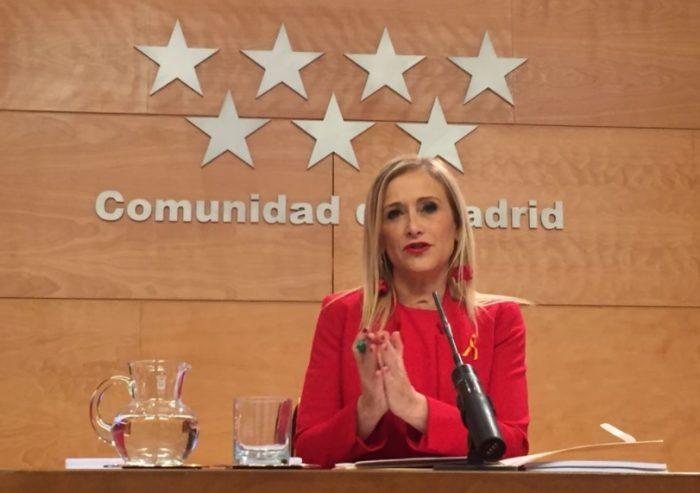 Cristina Cifuentes presenta presupuestos 2018