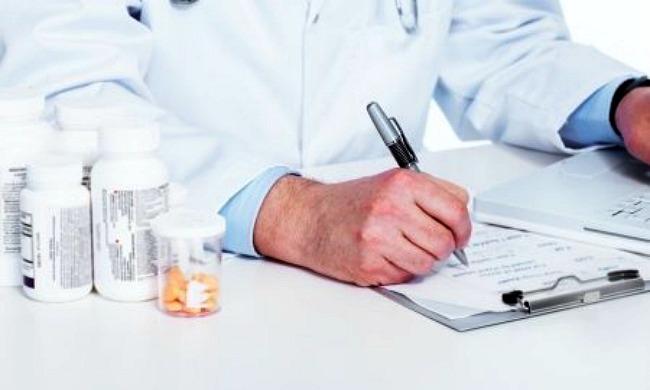 talonario de recetas médicos jubilados