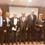 """Participantes en la Jornada """"La innovación, en el ADN de un sistema sanitario eficaz y sostenible"""""""
