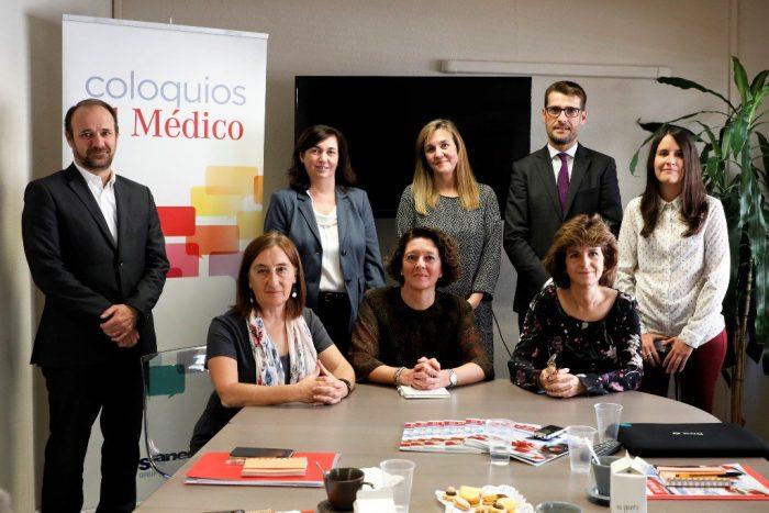 Foto de grupo del Coloquio sobre el manejo del paciente oncológico.