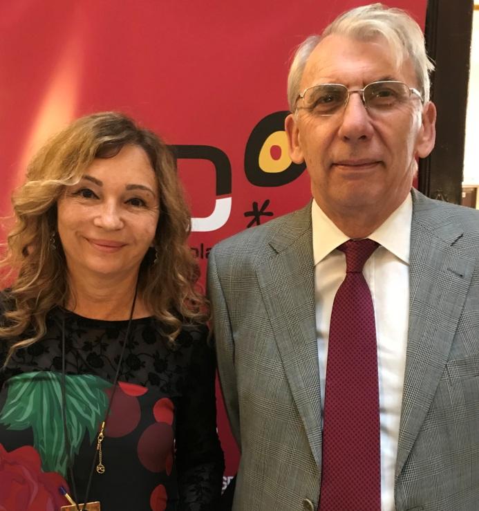 José Antonio López, especialista en Neurología y Mª Ángeles Canós, jefa de la Unidad de Referencia de Tratamiento del Dolor del Hospital Universitario y Politécnico La Fe de Valencia
