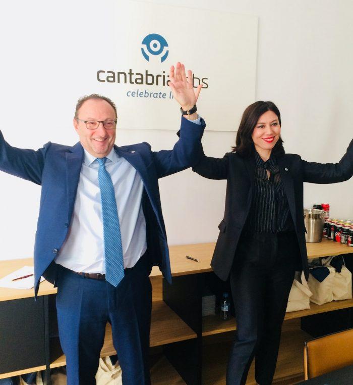 Nueva imagen corporativa de Cantabria Labs