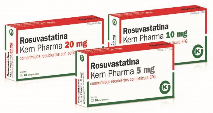 Tres nuevos formatos de Rosuvastatina