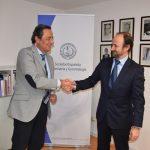Firma del acuerdo colaboración SEGG y Grupo SANED