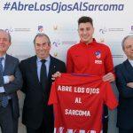 PharmaMar y la Fundación Atlético de Madrid presentan campaña #abrelosojosalsarcoma