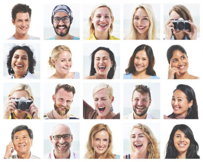 Se identifican patrones de coloración facial que son únicos para ...