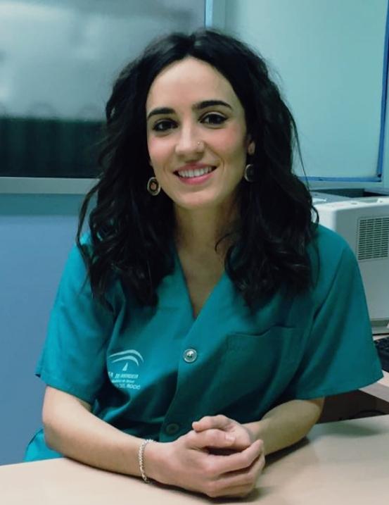 Cristina García, enfermera de la Unidad del Dolor del Hospital Virgen del Rocío, en Sevilla