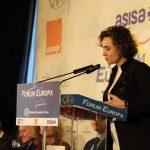 La ministra de Sanidad, Dolors Montserrat, ha asistido a un desayuno informativo organizado por Nueva Economía Fórum