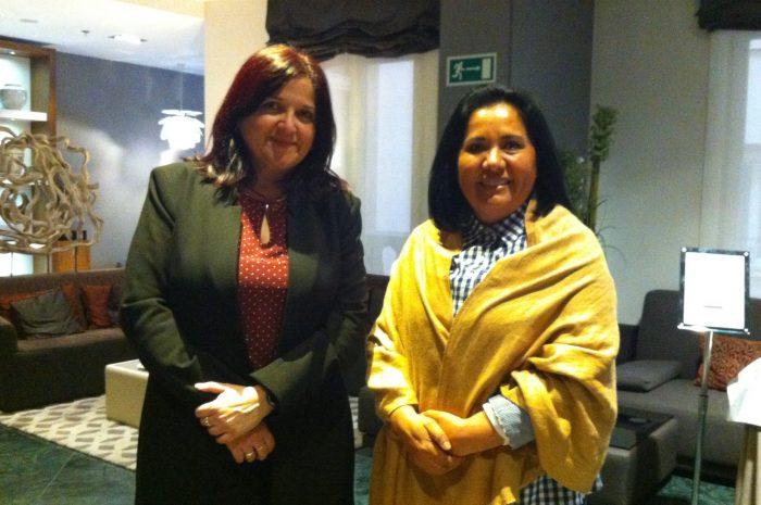 Ana María Mendoza y María del Socorro Negrete.