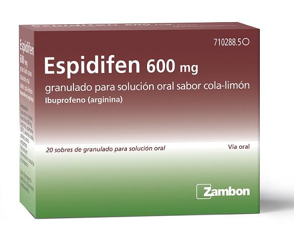 Espidifen 600 para el resfriado