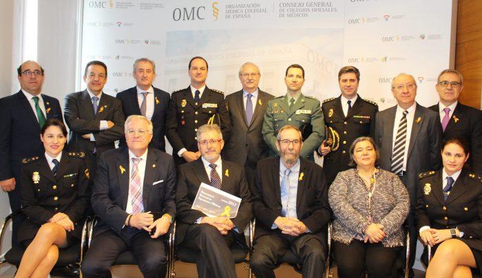 Participantes en la presentación del Observatorio de Agresiones de la OMC.