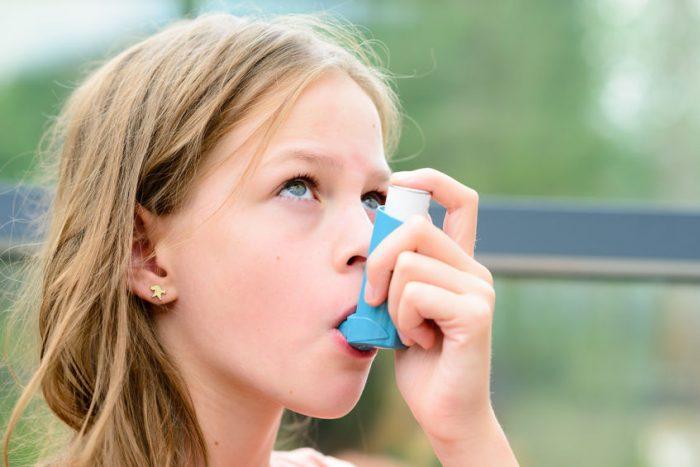 síntomas asma