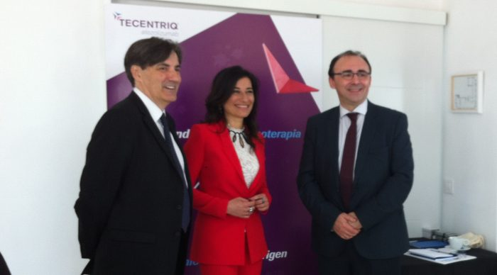 Mariano Provencio, Annarita Gabriele y José Ángel Arranz.