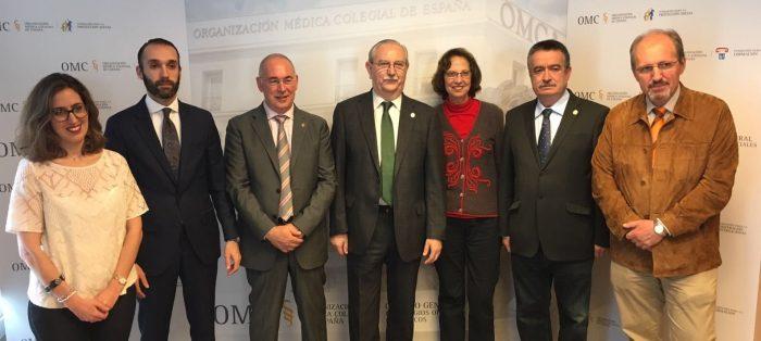 Presentación de la 'Encuesta sobre la Situación de la Profesión Médica en España 2018'.