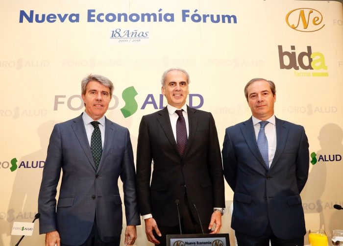 Consejero Sanidad Madrid Foro Nueva Economía