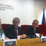 Soledad Cabezón, durante su intervención en la OMC.