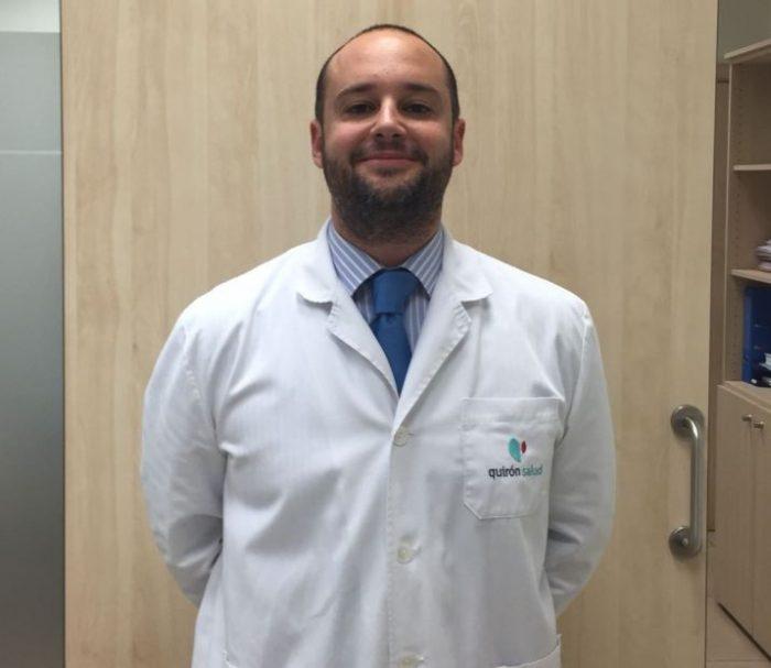 Daniel Abehsera, del Hospital Quirónsalud Málaga