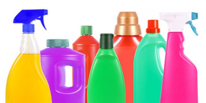 Productos quimicos en el aseo personal