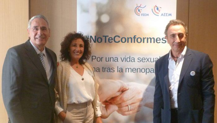 Nicolás Mendoza, Rafael Sánchez Borrego y Ana Rosa Jurado.