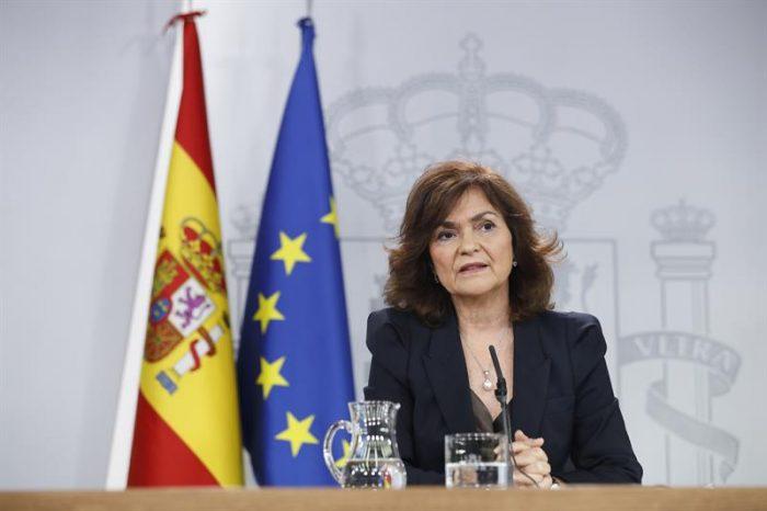 vicepresidenta gobierno