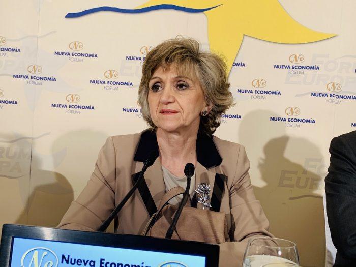 Intervención ministra Fórum Europa