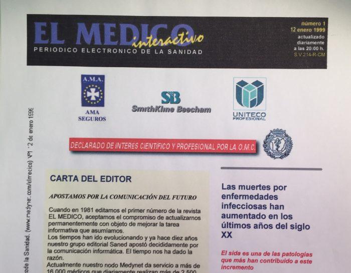 Primer número EL MÉDICO INTERACTIVO