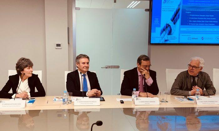 Políticos ASEDEF debate Pacto por la Sanidad