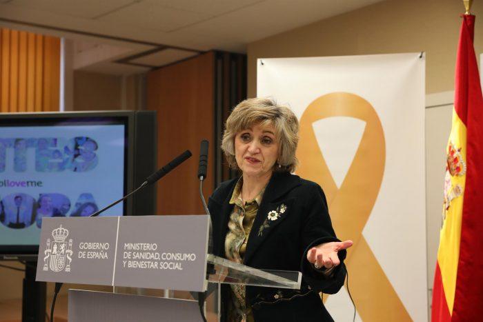 María Luisa Carcedo, ministras de Sanidad.