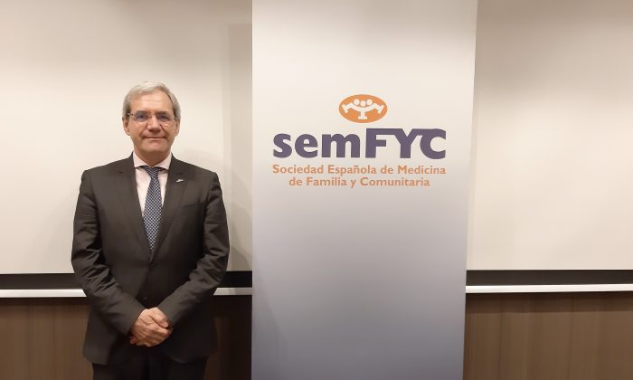 Salvador Tranche, presidente de semFYC.