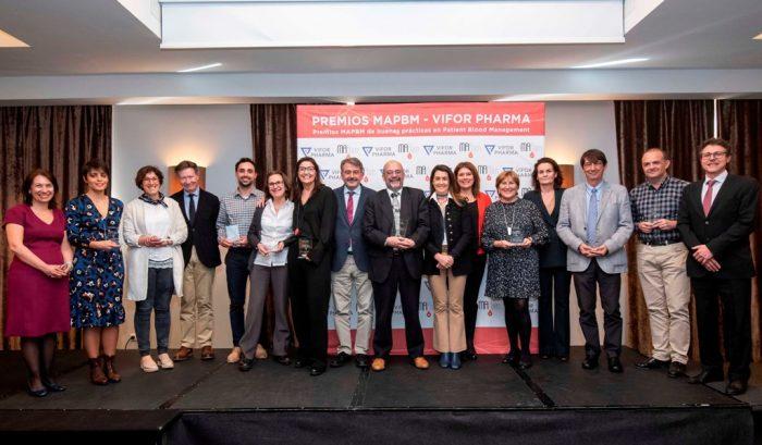 Galardonados II Premios MAPBM-Vifor