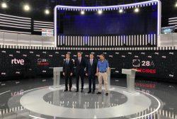 """""""Los candidatos al Gobierno apenas mencionan la Sanidad en su primer debate"""