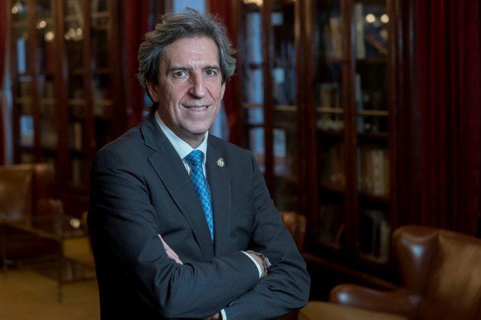 Miguel Ángel Chillón, presidente del Colegio de Médicos de Madrid