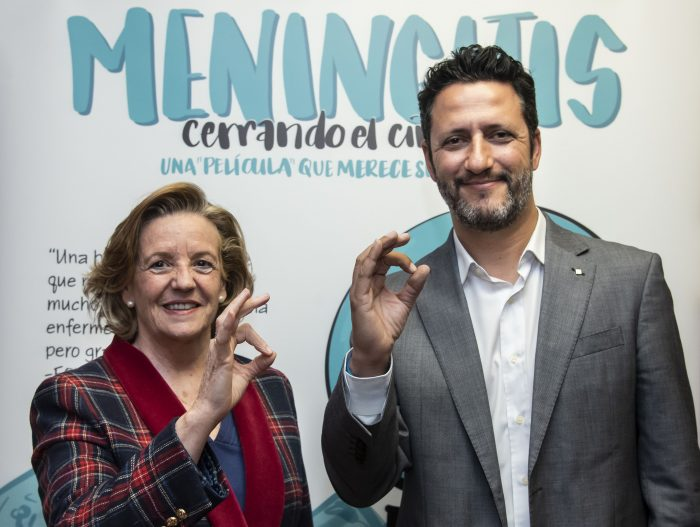Teresa Hernández-Sampelayo, del Comité Ejecutivo de la AEP, y David Moreno, coordinador del Comité Asesor de Vacunas de la Asociación Española de Pediatría (CAV-AEP).