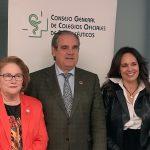 Isabel Tovar, Jesús Aguilar y Ana López-Casero.