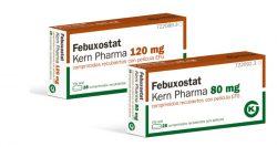 """""""Kern Pharma presenta Febuxostat para el tratamiento de la hiperuricemia crónica"""