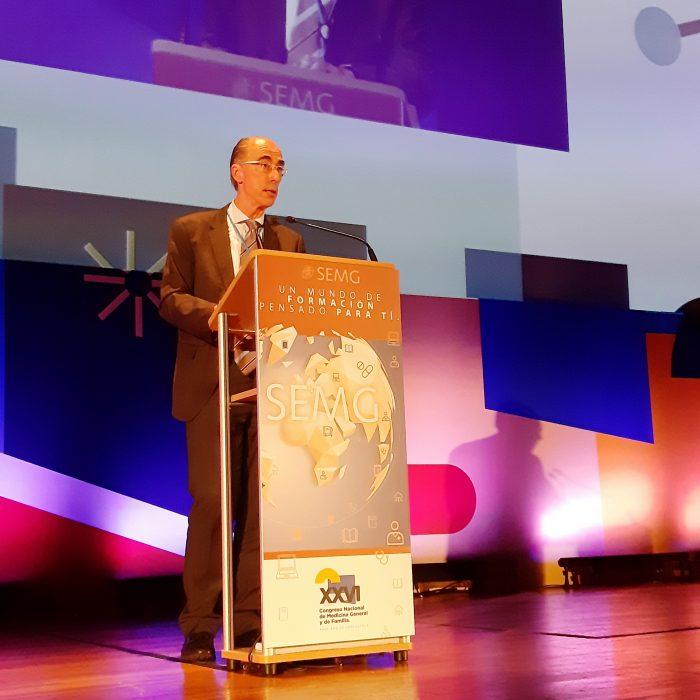 Jesús Vázquez Almuiña, conselleiro de Sanidade de Galicia.