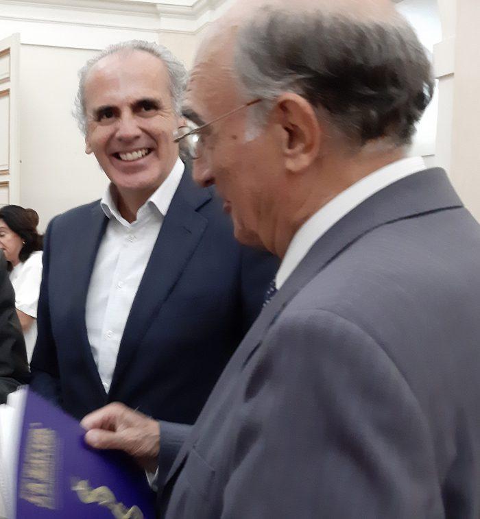 Enrique Ruiz y Julián García Vargas.
