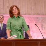 Teresa Cruz, consejera de Sanidad de Canarias.
