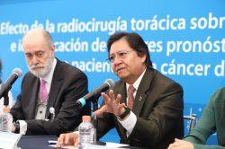"""""""Protocolo de radioterapia externa mejora calidad de vida del paciente con cáncer pulmonar"""