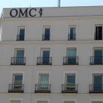 Cuatro candidatos a la presidencia de la OMC. Imagen de la fachada de la OMC