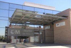 centro de salud de la CAM