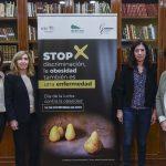 Nuria Vilarrasa, Irene Bretón, Blanca Dahl y Susana Monereo presentan la campaña contra la obesidad.