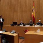 Salvador Illa, ministro de Sanidad, durante su intervención en la jornada sobre la ley de la eutanasia.