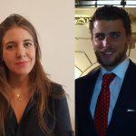 Lourdes Aguirre Ortega y Jorge Murillo Ballell, abogados de DAC Beachcroft