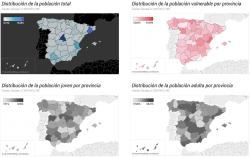 provincias más vulnerables