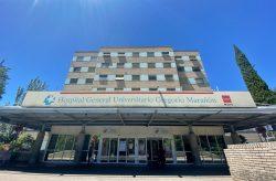 Fachada del Hospital Gregorio Marañón en Madrid